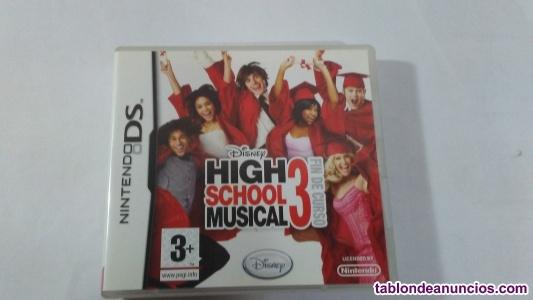 High school musical 3. Para nintendo ds