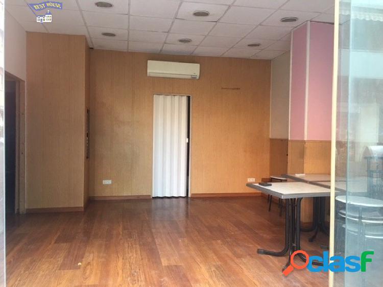 Alquiler de local comercial de 60 m2 en la zona de Sant