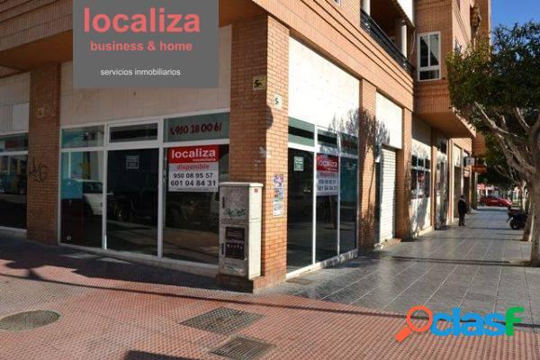 Alquiler de local en la Rambla Federico García Lorca