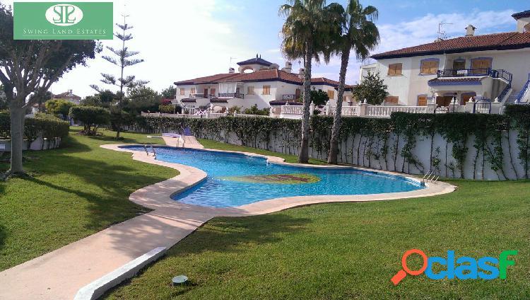 Apartamento con piscina en Rio Mar, Mil Palmeras