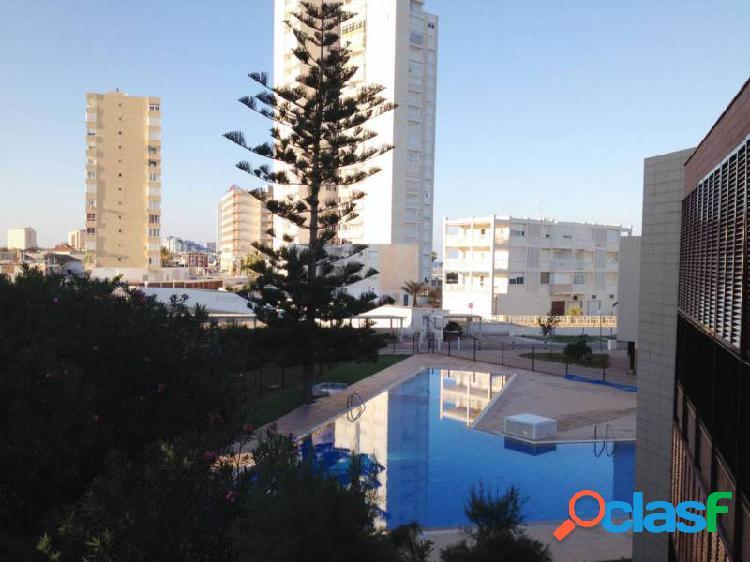 Apartamento en La Entrada de La Manga, con piscina, garaje y