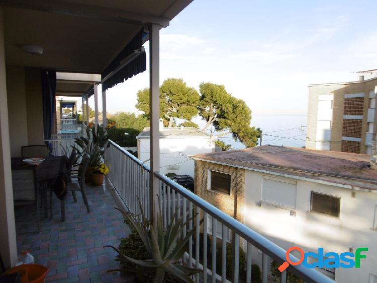 Apartamento en primera linea de mar en Alcanar playa
