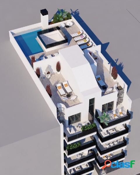 Apartamentos de 2 y 3 dormitorios a 200m de la Playa del