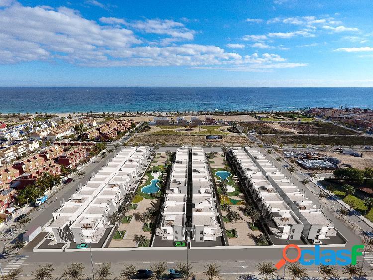 Apartamentos de obra nueva en estilo moderno a 200m de playa
