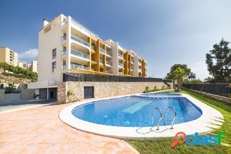 Apartamentos en primera línea de plata en Vilajoyosa