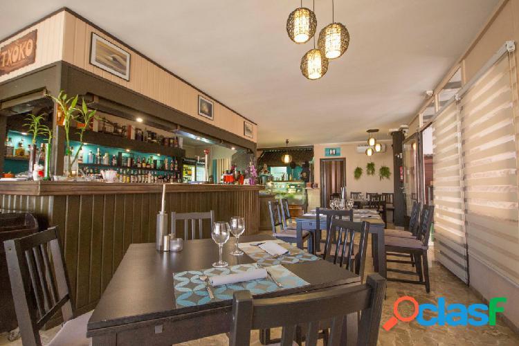 Bonito y exitoso Restaurante 1 Tenedor en Costa- El Médano.