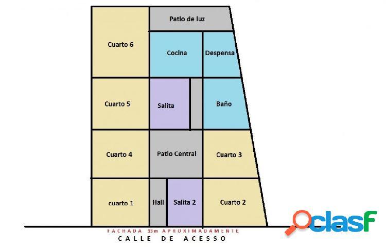 CASAS A REFORMAR EN EL CENTRO DE CHICLANA