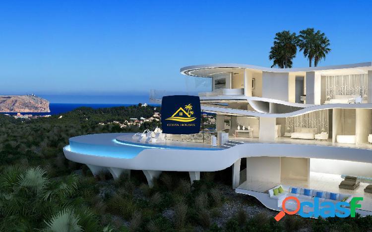 ⚜ COSTA HOUSES ® Lujosa Villa Vanguardista en Javea COSTA