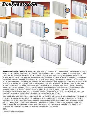 Campaña sustitucion de radiadores