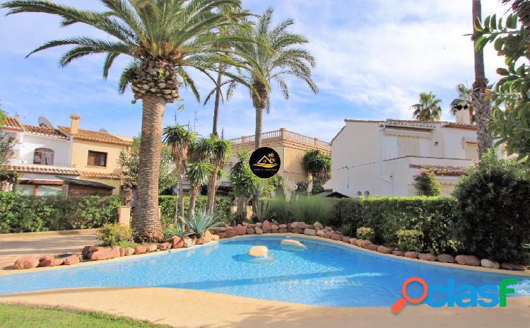 ? Casa Adosada Mediterránea en Javea a 250 mt PLAYA del