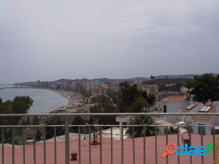 Casa Adosada con vistas al mar, piscina y parking