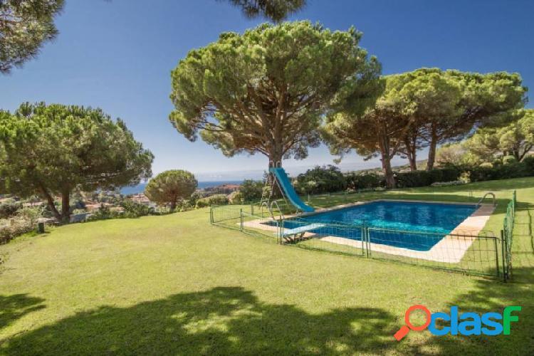 Casa con vistas al mar en Barcelona Costa