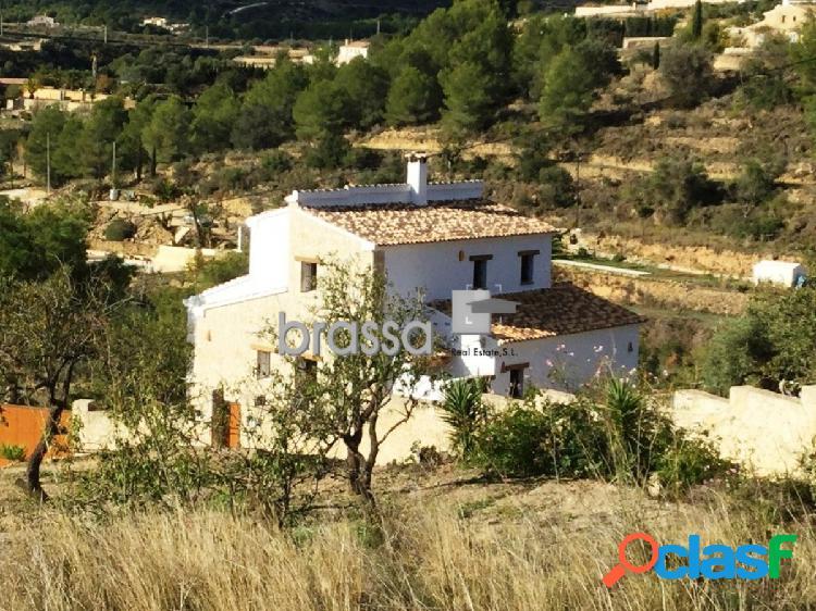 Casa de campo de nueva construcción en venta Benissa Costa