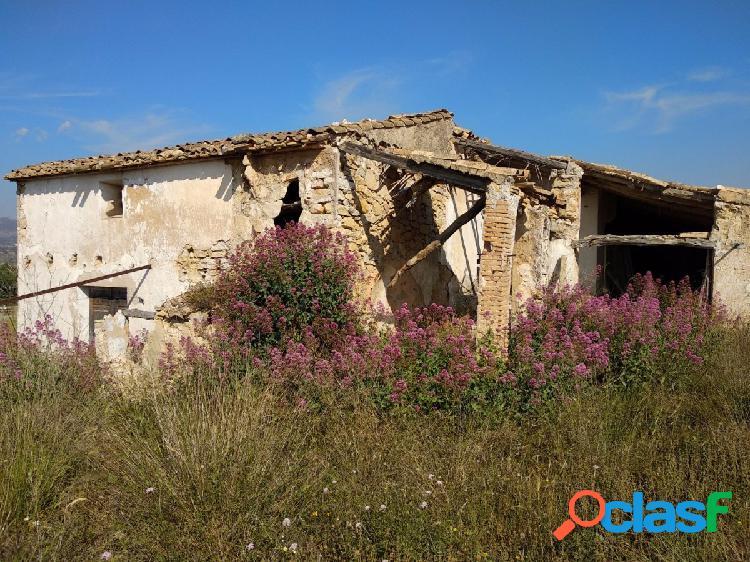 Casa de campo en Benissa para reformar