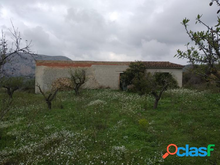 Casa de campo en Teulada para reformar