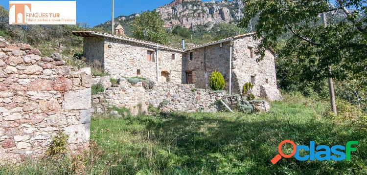 Casa rústica en el Berguedà, en un entorno de pura