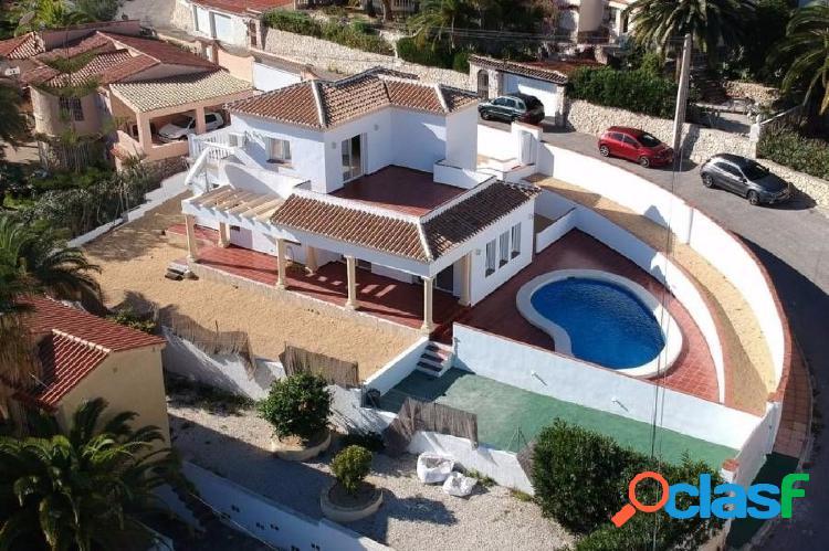 Chalet de Obra Nueva en venta Montmar Benissa