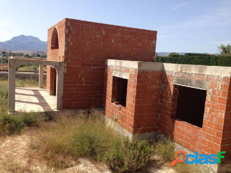 Chalet en construcción en Busot zona Bonalba Alta