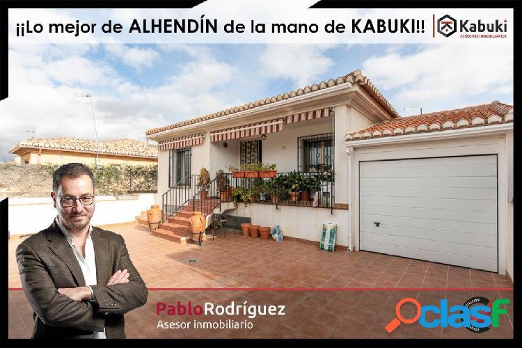 Chalet independiente en Alhendín, urbanización Cadima 2