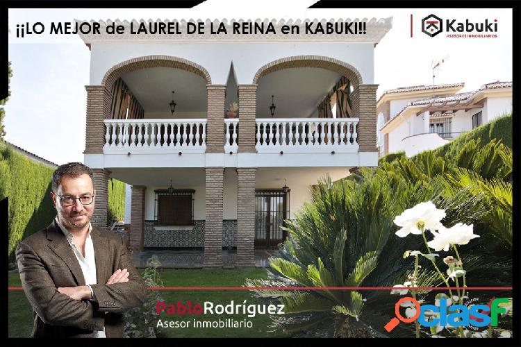 ESPECTACULAR CHALET EN LAUREL DE LA REINA (LA ZUBIA).