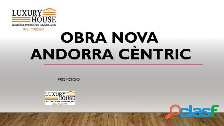 Edificio de obra nueva en el centro de Andorra la Vella