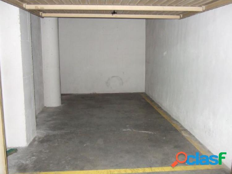 En venta plaza de garaje en Novelda
