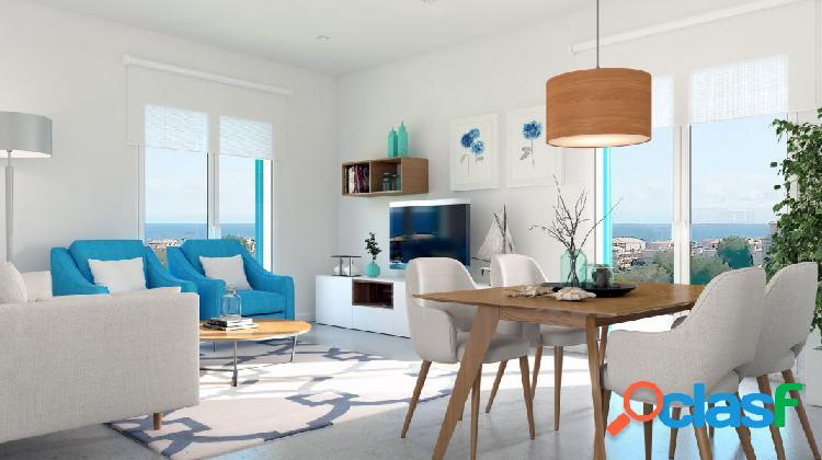 Espectacular apartamento con vistas al mar en Playa Flamenca