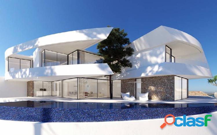 Espectacular villa de diseño con impresionantes vistas al