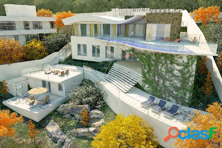 Espectacular villa de nueva construcción en Cas Catalá
