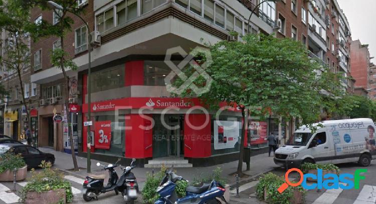 Excelente oficina en alquiler en el barrio de Salamanca