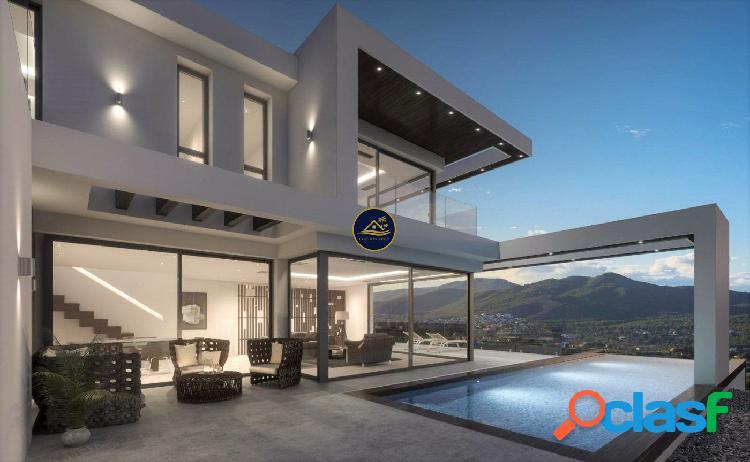 Exclusiva Villa de Diseño de 4 dorm en Suite con Vistas