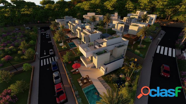 Exclusivas villas de estilo moderno con impresionantes