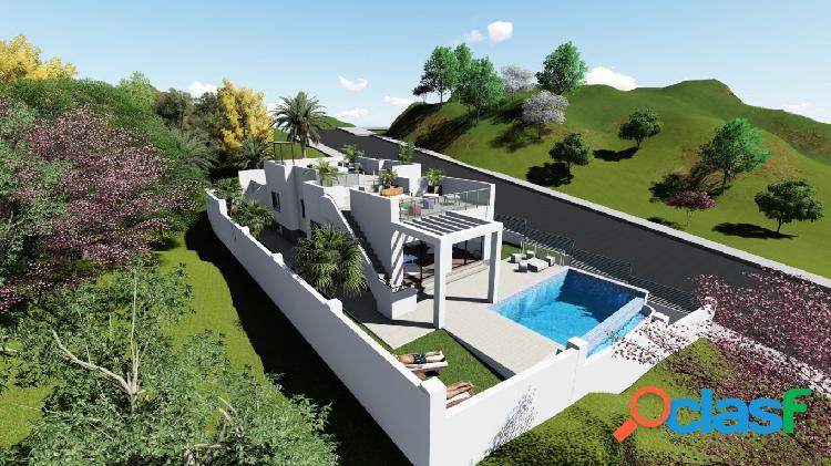 Fantástica villa de nueva construcción en Nerja