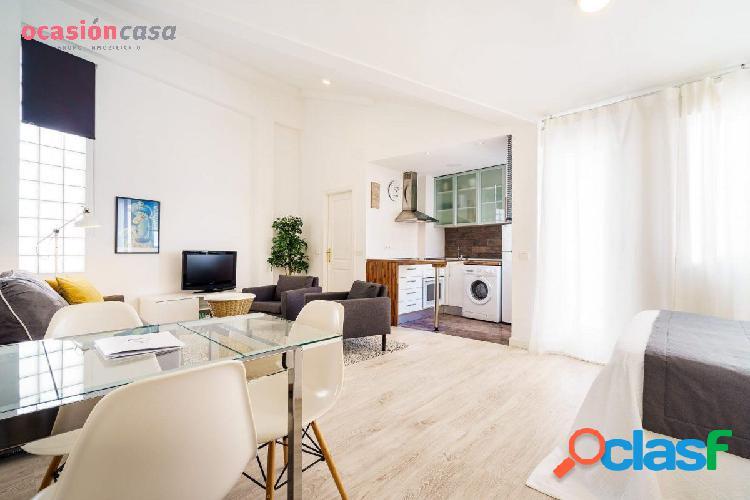 Fantástico apartamento en pleno centro de Málaga.