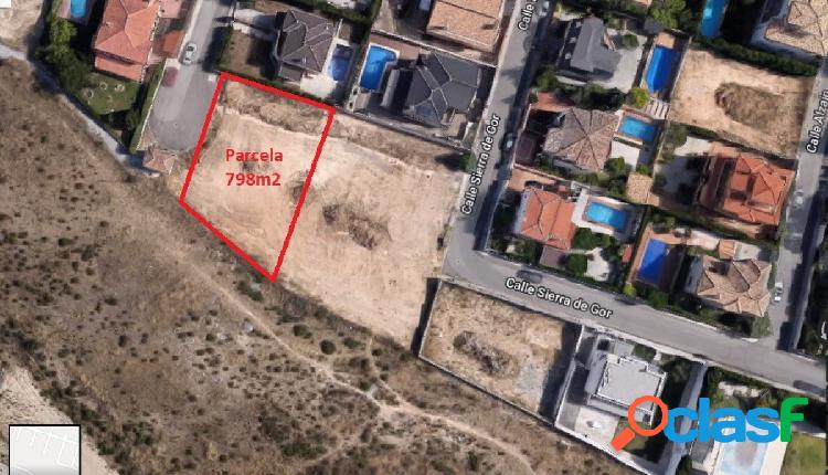 Gran parcela urbanizable en Urb Santa Marta de Gójar