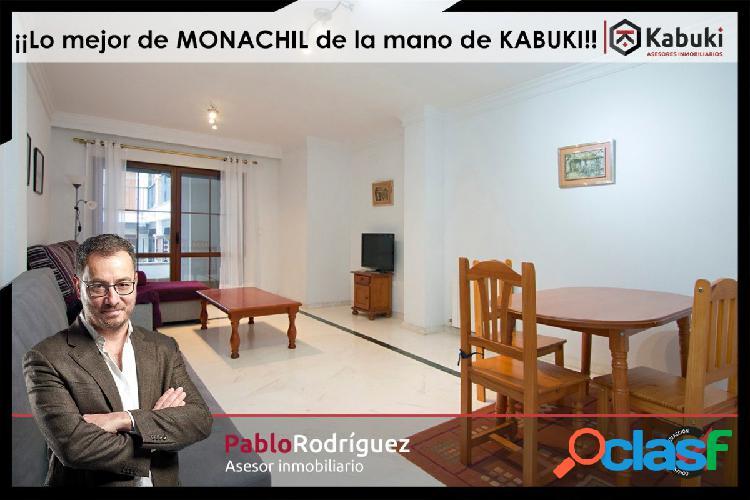 Gran piso en Monachil, tres amplios dormitorios, y dos