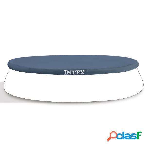 Intex Cubierta de piscina redonda 244 cm 28020