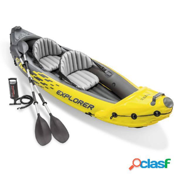 Intex Kayak inflable Explorer K2 312x91x51 cm 68307NP
