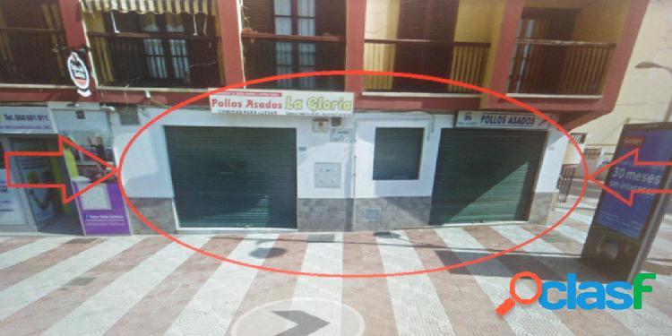 LOCAL COMERCIAL EN AVENIDA PRINCIPAL DE AGUADULCE. CARLOS