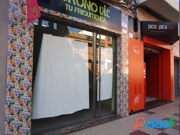 LOCAL COMERCIAL EN PLENA AVDA DE MELIANA