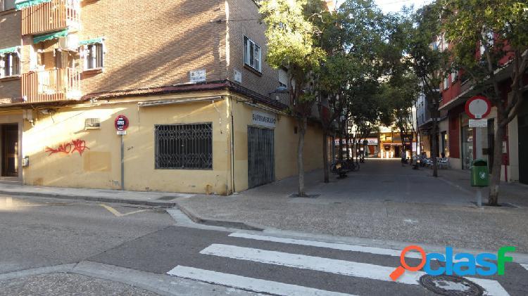 LOCAL EN ALQUILER ZONA DELICIAS (ZARAGOZA). REF.: