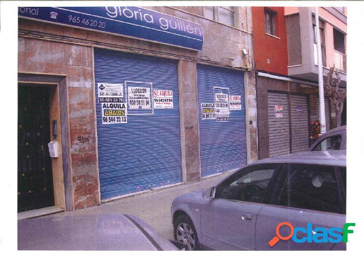 Local comercial en Elche zona Plaza Crevillente, 125m2