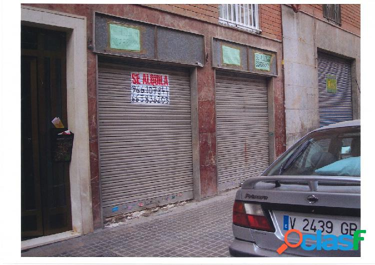 Local comercial en Elche zona Plaza Madrid, 100 m2