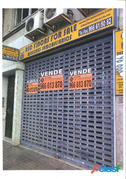 Local comercial en Elche zona Universidad - Ciudad