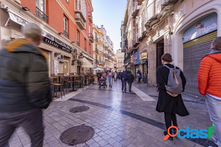 Local comercial en centro histórico de Málaga.