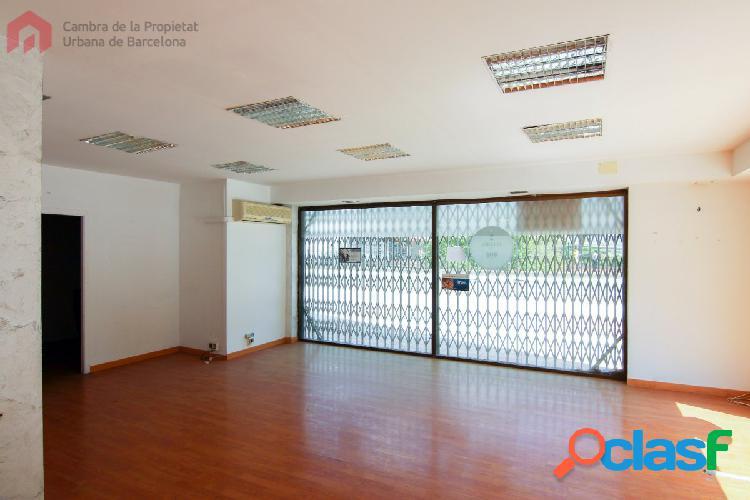 Local diáfano de 128 m2 en Ciutat Meridiana con buena