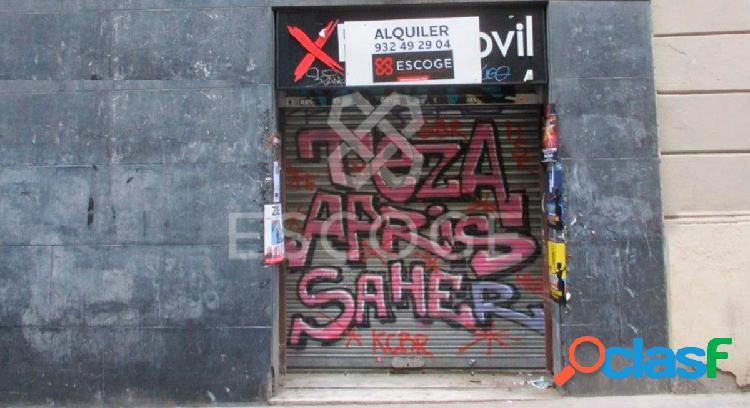 Local en alquiler en zona comercial del centro de Barcelona