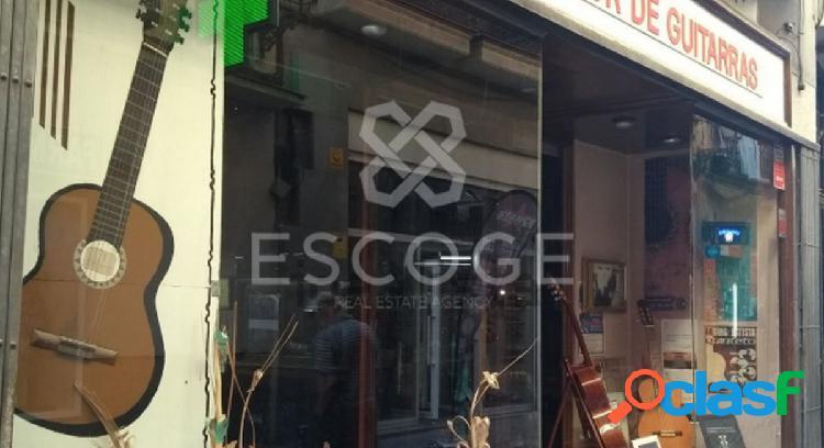 Local en venta en el centro de Madrid