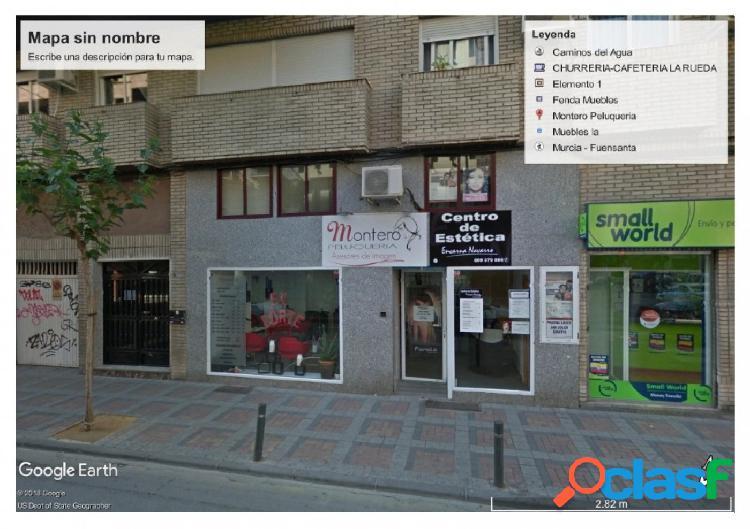 Local en venta en el centro de Murcia