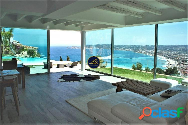 Luxury IBIZA Style Villa con Privilegiadas VISTAS al MAR y